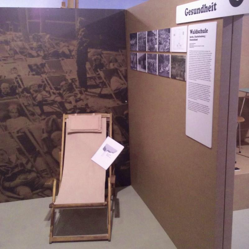 Der Liegestuhl als Symbol der Waldschule