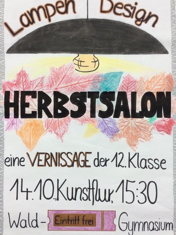 Einladung: Herbstsalon – Vernissage der 12. Klasse