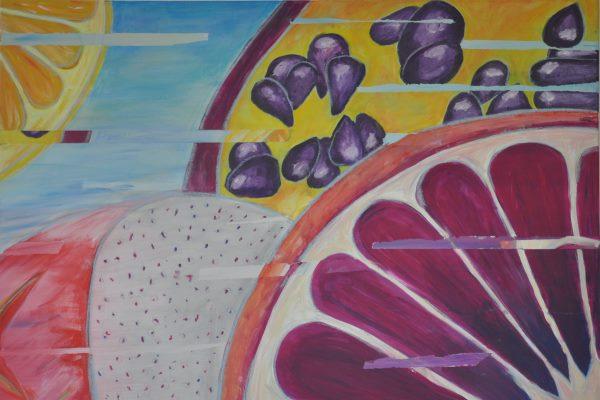 Kunst: Werke einer 8. Klasse – Vitamine im Detail - slide 3