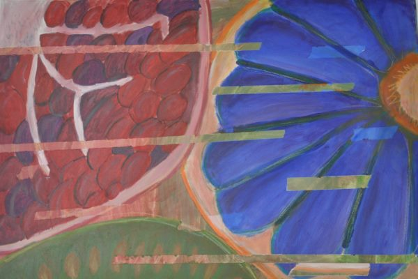 Kunst: Werke einer 8. Klasse – Vitamine im Detail - slide 1