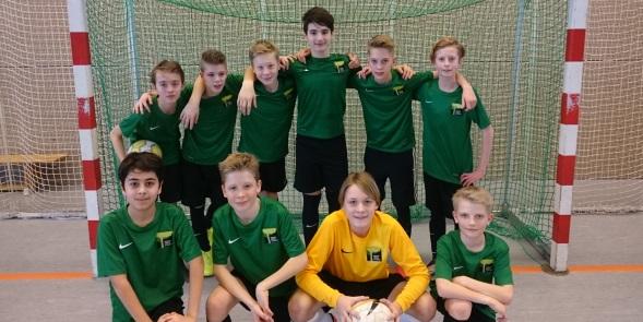 Futsal-Team: Wir sind Bezirksmeister
