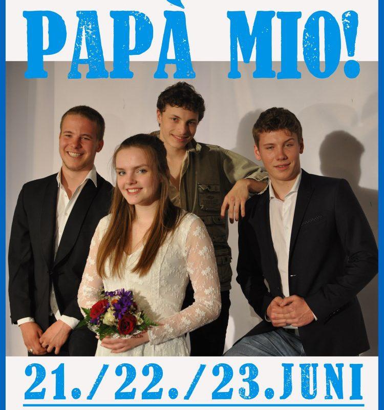 """Nur noch heute und morgen: """"Papa Mio!"""" im Wald-Gymnasium – das Musical-Highlight 2017."""
