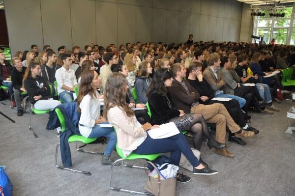 Galerie: Podiumsdiskussion zur Bundestagswahl 2017 - slide 3
