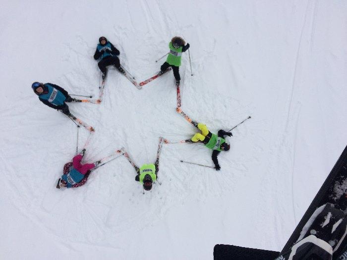 Die Skifahrer 2018 lassen grüßen - slide 2