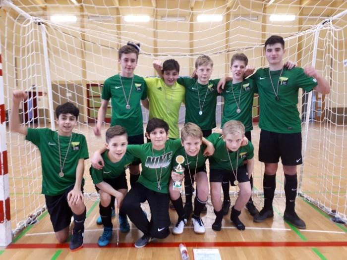 Wald-Gymnasium ist Berliner Vize-Meister im Futsal