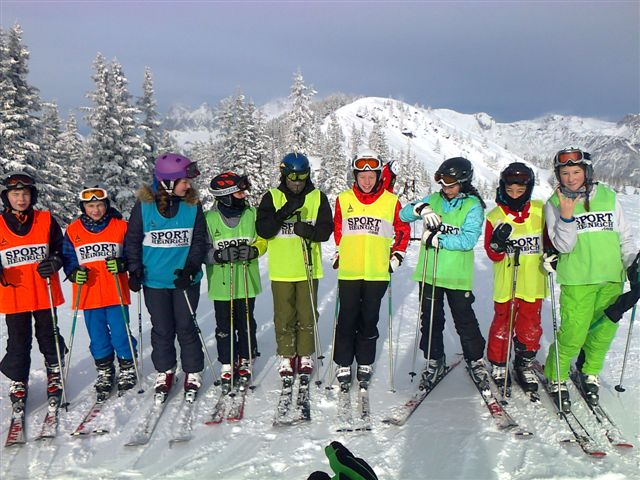Grüße von den Skifahrern - slide 1