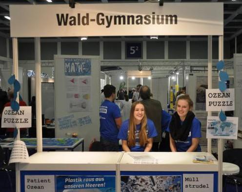 Das Wald-Gymnasium auf der Wassermesse