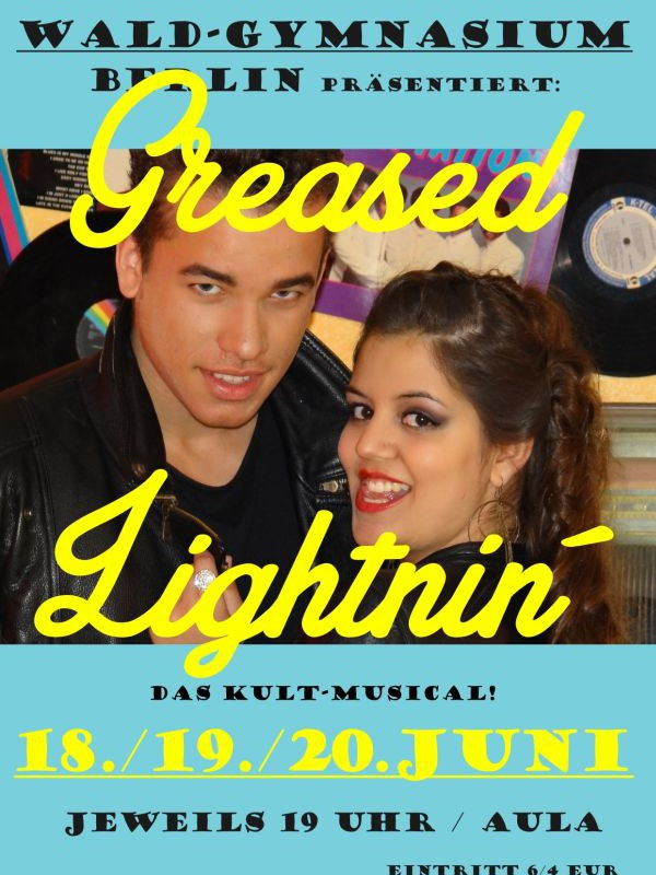 Premiere am 18. Juni: Greased Lightning