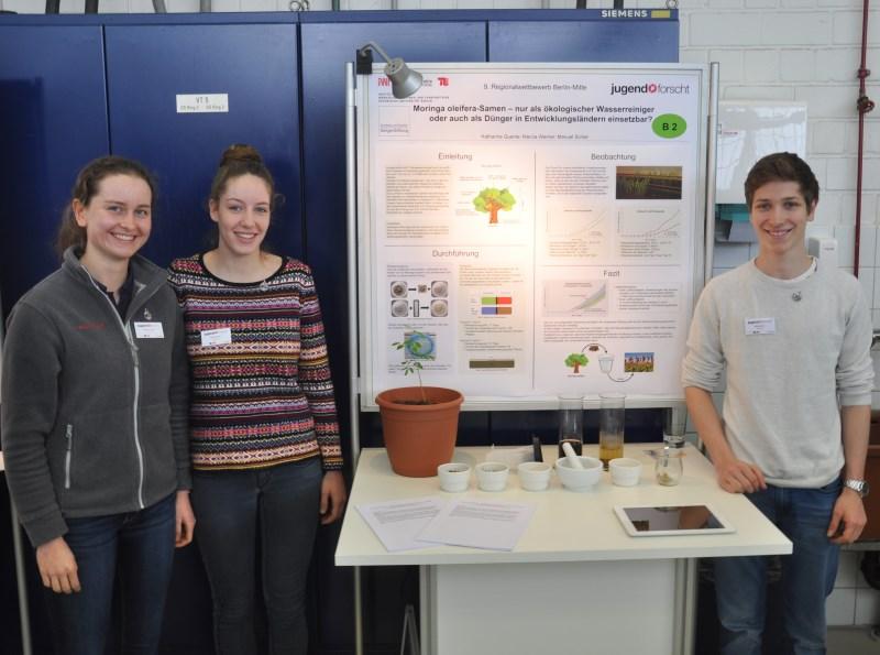 Jugend forscht- Ein Sonderpreis und ein dritter Platz für unsere Forscher