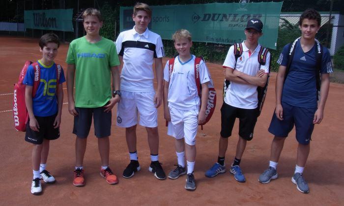 Berliner Vize-Meister im Tennis 2016: Das Team vom Wald-Gymnasium