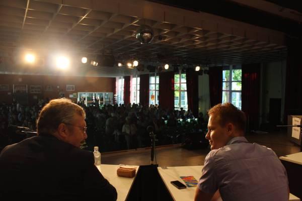 Galerie: Podiumsdiskussion zur Wahl 2016 - slide 3