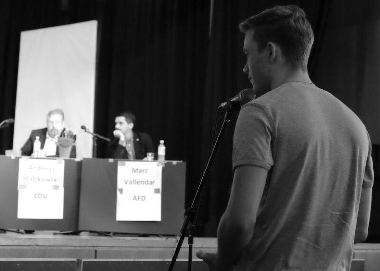 Galerie: Podiumsdiskussion zur Wahl 2016 - slide 7