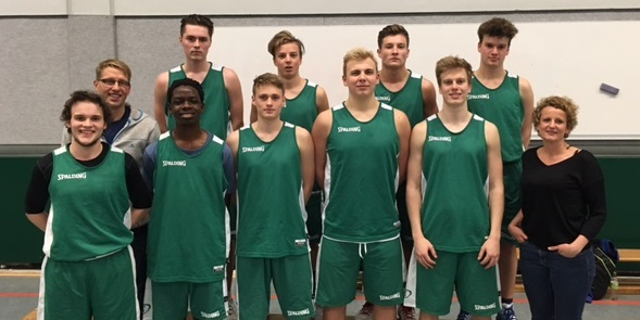 1. Platz im Basketball