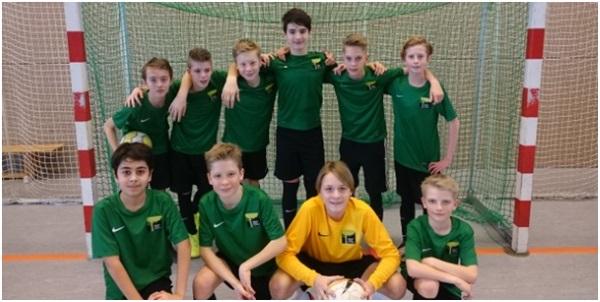 Futsal-Team: Platz 4 in Berlin