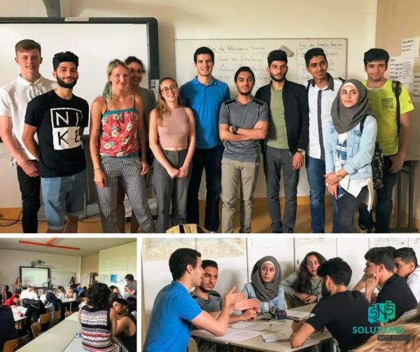 Solutions Not Sides – Projekt im Wald-Gymnasium