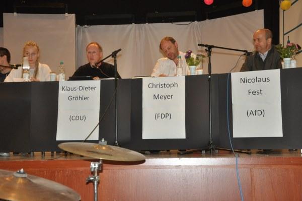 Galerie: Podiumsdiskussion zur Bundestagswahl 2017 - slide 1