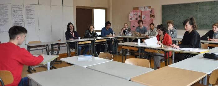 """Unsere Kandidaten für """"Jugend debattiert 2018"""""""