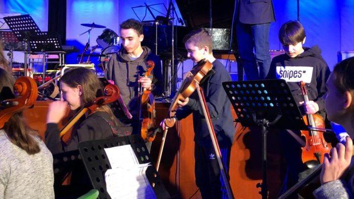 Rückblick: Musikabend am Wald-Gymnasium in Bildern (leider ohne Ton;)) - slide 7