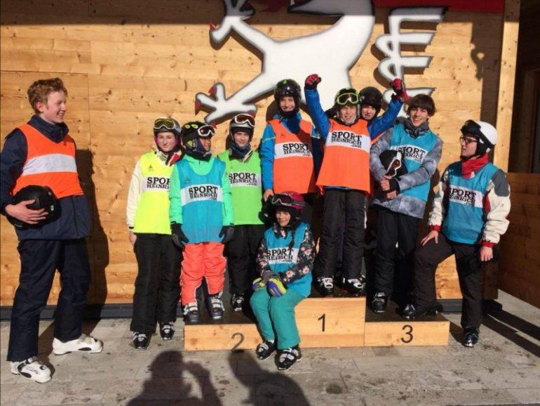 Nachrichten von den Skifahrern - slide 1