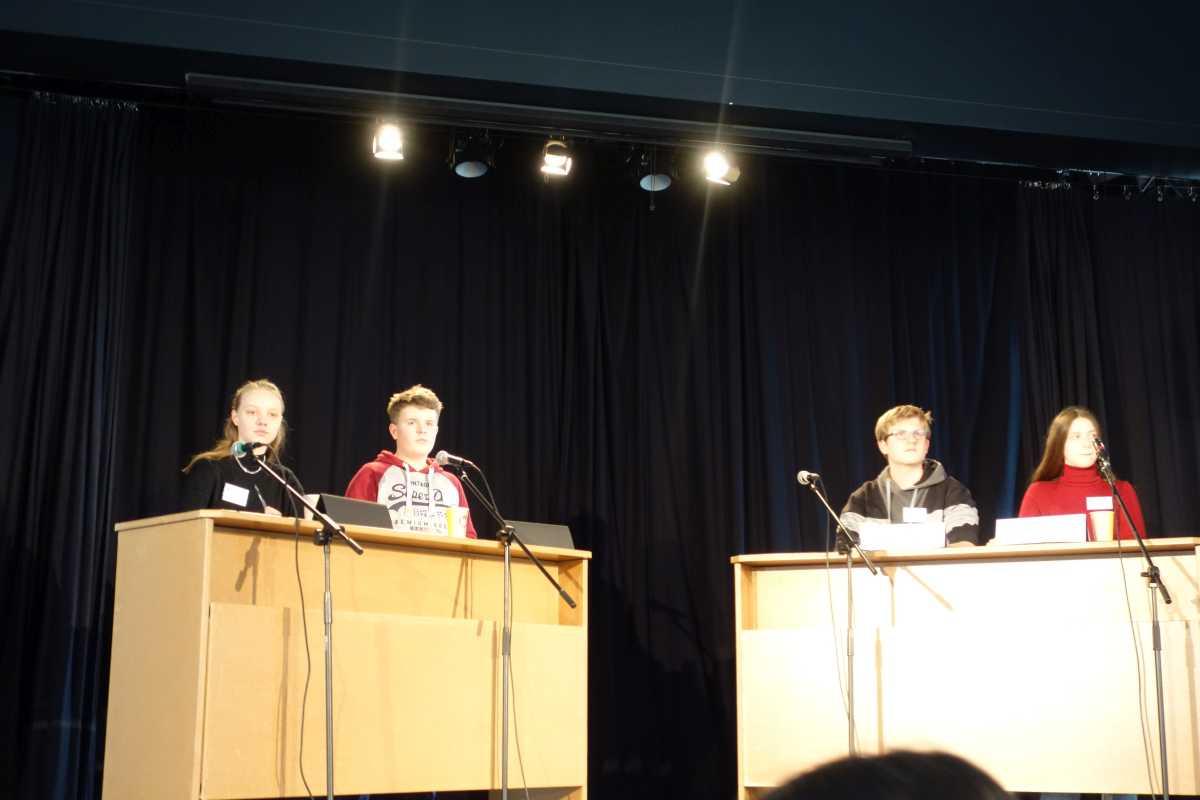 Rückblick: Regionalwettbewerb | Jugend debattiert 2020 - slide 1
