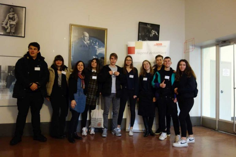Rückblick: Regionalwettbewerb | Jugend debattiert 2020 - slide 2