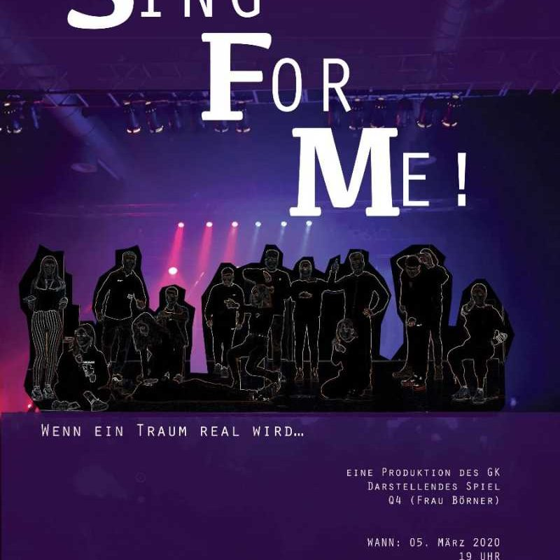 Wir machen weiter Theater: Sing For Me | 05.03.20 | 19h