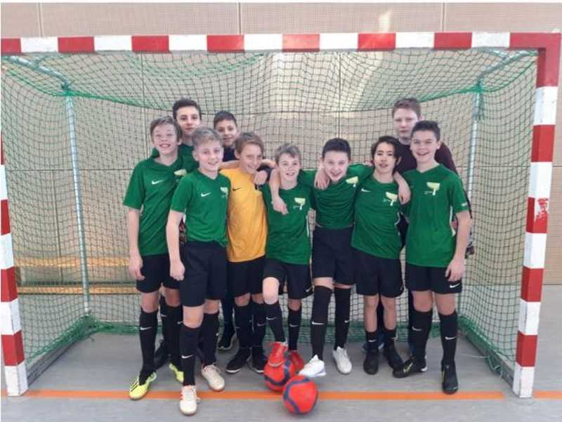 Futsal: Wald-Gymnasium – ohne Gegentor (!) zur Bezirksmeisterschaft