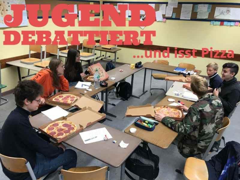 Regen, Pizza und Debatten